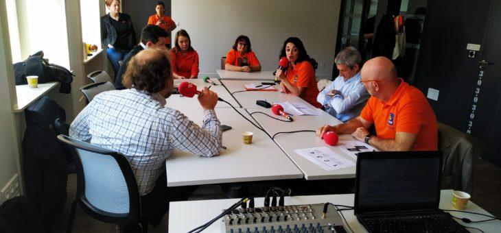 Plateau Radio du 9 avril à propos de l'inclusion numérique sur RCF Poitou