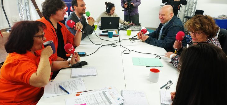 Deuxième Plateau Radio sur l'inclusion numérique sur RCF Poitou du 16 avril 2019 à 18h 15